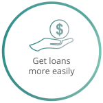 get loans more easily